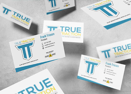 True Traction Business Card