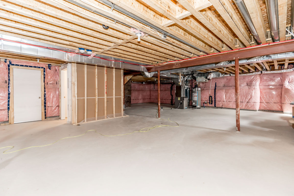 Before Virtual Staging Basement