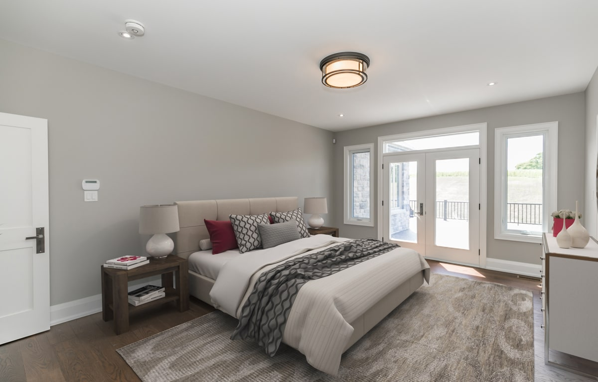 After Virtual Staging Bedroom